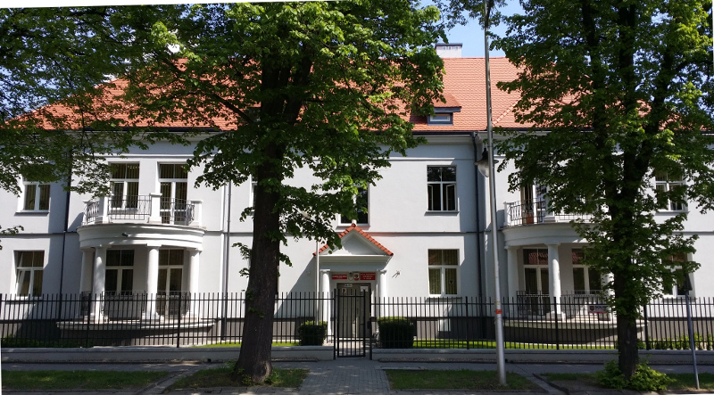 Budynek Wojewódzkiego Biura Geodezji po remoncie.