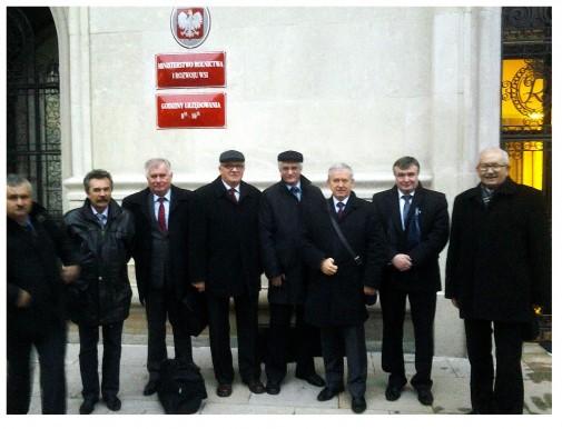 Spotkanie w Ministerstwie Rolnictwa i Rozwoju Wsi.