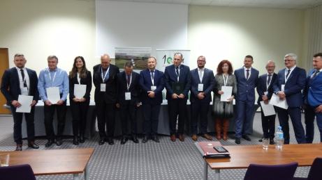 Pracownicy WBG na Seminarium podsumowujące czterdziesty trzeci ogólnopolski konkurs jakości prac scaleniowych zorganizowanym przez Ministerstwo Rolnictwa i Rozwoju Wsi