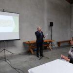 Prezentacja dotycząca scalenia gruntów wsi Zaliszcze.