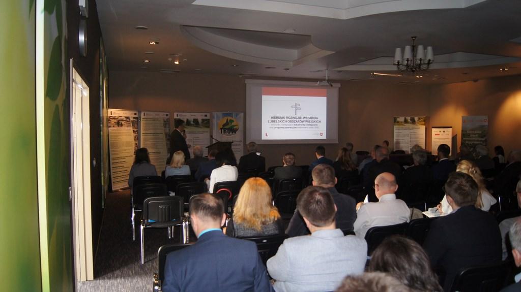 Konferencja przedstawiająca Kierunki Rozwoju i Wsparcia Lubelskich Obszarów Wiejskich.