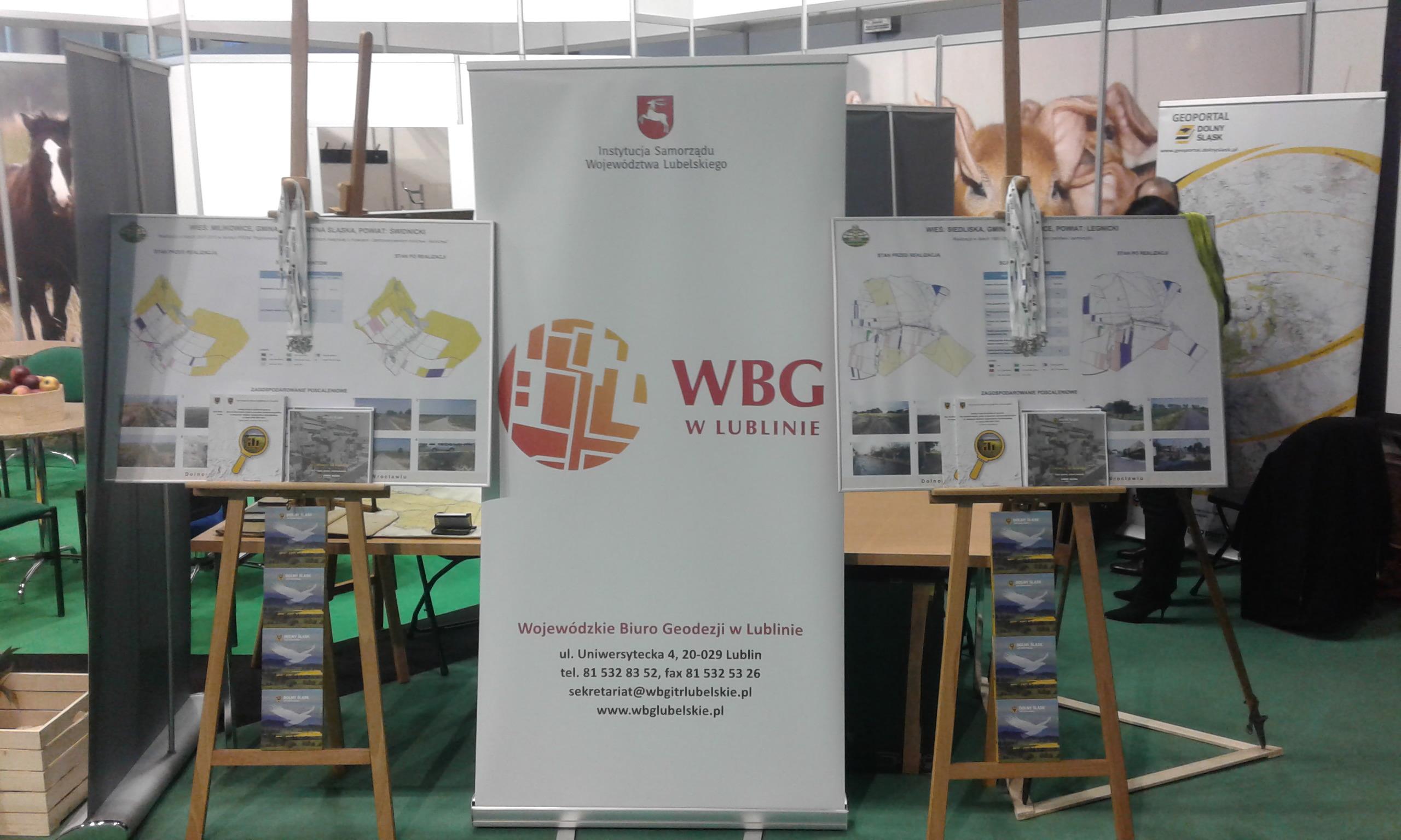 Wojewódzkie Biuro Geodezji na Narodowej Wystawie Rolniczej.