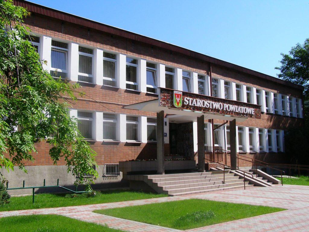 Zdjęcie przedstawiające Starostwo Powiatowe.