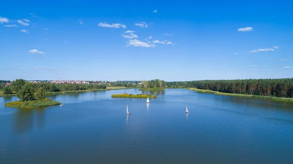 Zdjęcie jeziora.