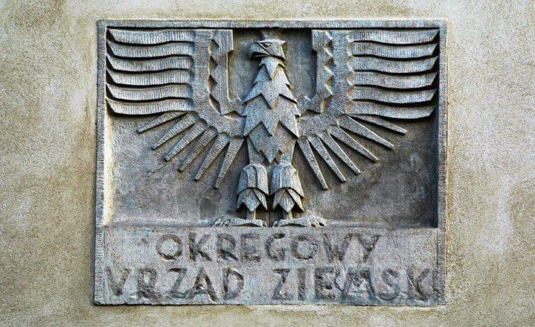 Szyld - Okręgowy Urząd Ziemski