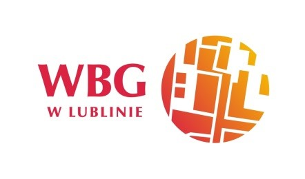 Logotyp WBG w Lublinie