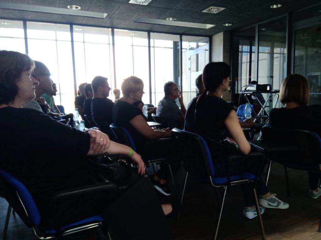 Zdjęcie ze szkolenia pracowników WBG w Lublinie