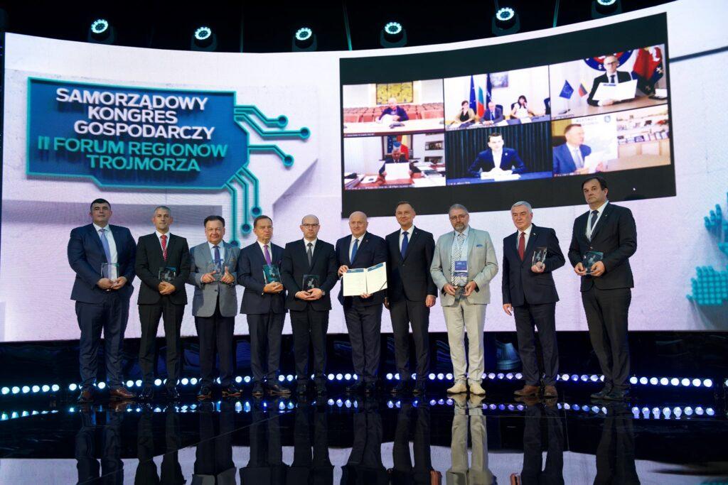 Samorządowy Kongres Gospodarczy, II Forum Regionów Trójmorza, którego organizatorem było Województwo Lubelskie.