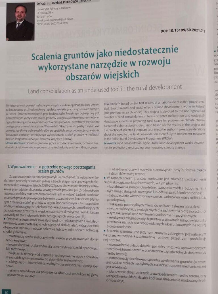 Artykuł z magazynu