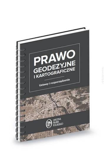 Książka prawo geodezyjne