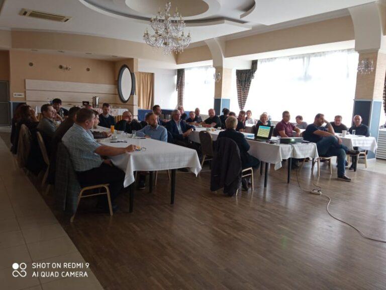 pięciodniowe szkolenie pracowników WBG w Lublinie